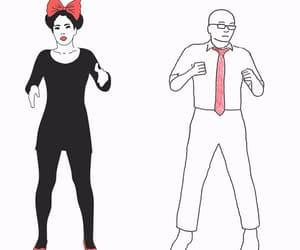 danza, gif, and mujer image