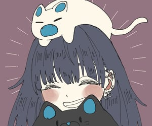 anime, matching, and girl icon image