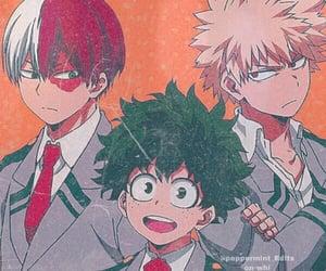 boku no hero academia, anime, and anime boys image