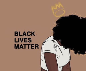Afro, discrimination, and racism image