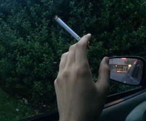 cigarette and green image