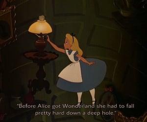alice in wonderland, books, and disney image