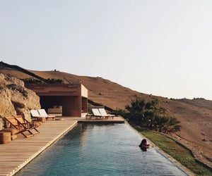 house and pool image
