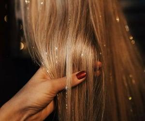 beauty, hair, and tinsel image
