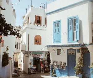 travel, white, and blue image