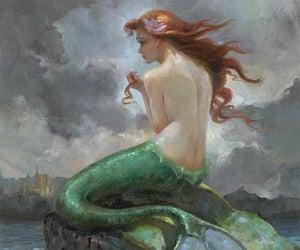 mermaid and ariel image