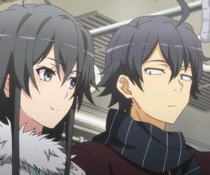 anime, anime girl, and hikki image