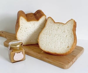 bread, food, and cute image