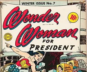 vintage and wonder woman image