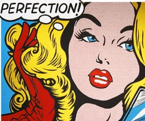 comic, perfection, and pop art image