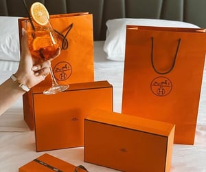 drink, fashion, and hermes image
