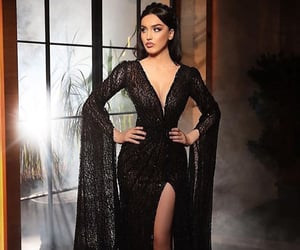 blackdress, Couture, and dress image