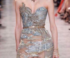 details, runway, and dress image