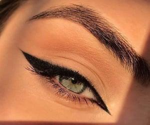 beautiful, eyelashes, and eyeliner image