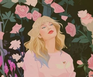 art, lover, and Taylor Swift image