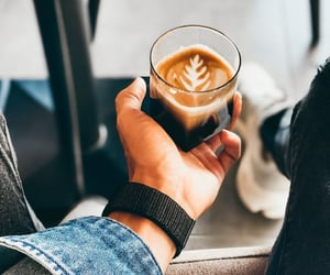 attractive, coffee, and mood image