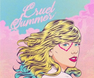 art, Taylor Swift, and cruel summer image