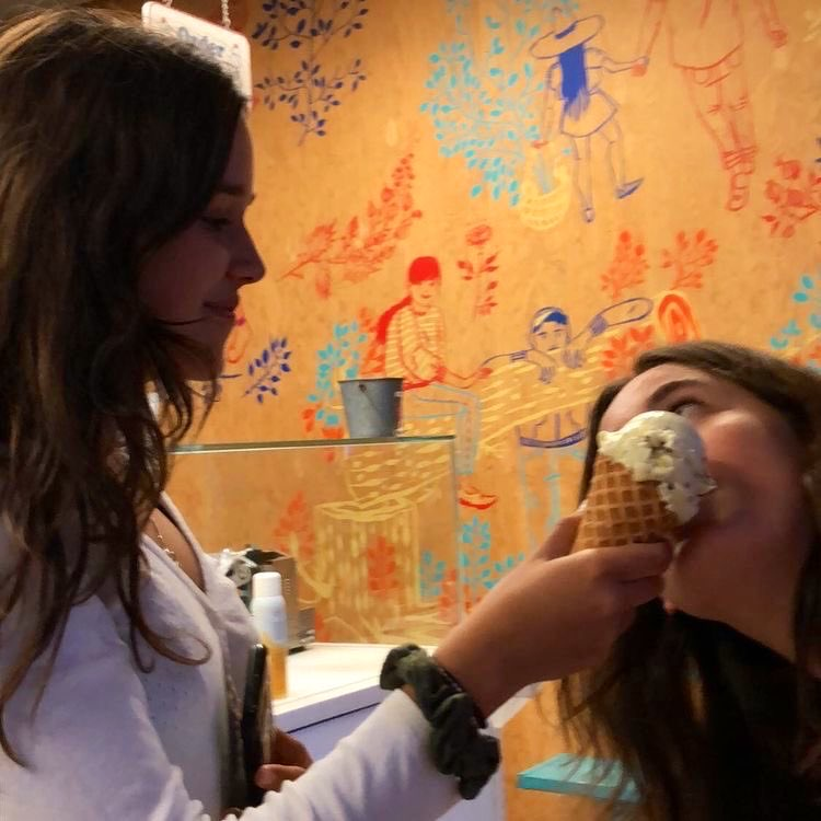 city, ice cream, and soft image
