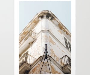 architecture, house, and wall art image