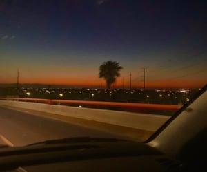 blue, bridge, and driving image