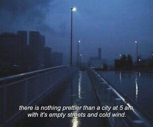 quotes, city, and night image