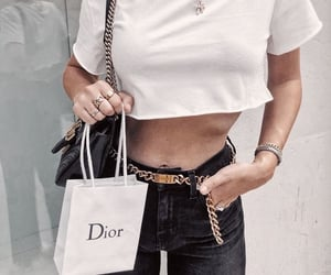 fashion, dior, and outfit image