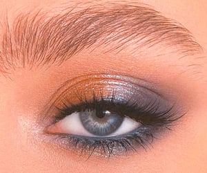 makeup, eyeshadow, and beauty image