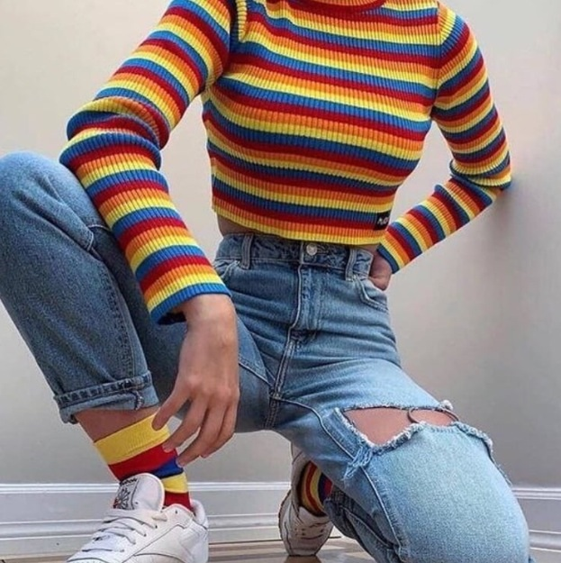 arco iris, article, and fashion image
