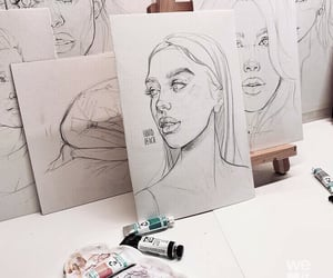 drawing, painting, and art image