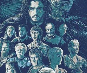 arya stark, daenerys targaryen, and tyrion lannister image