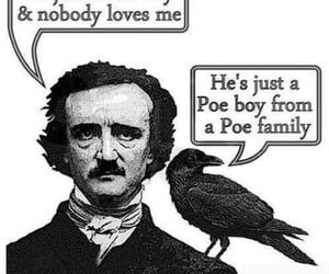 edgar allan poe, gothic, and horror image