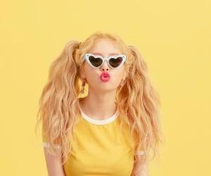 hyuna, kpop, and yellow image