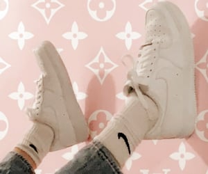Louis Vuitton, LV, and nike image