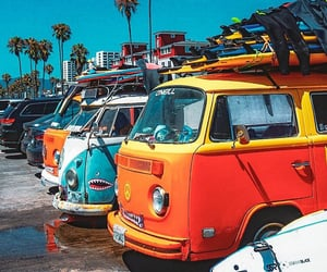 automobiles, summer, and vans image