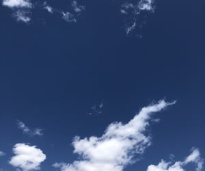 blue, clouds, and cloudy image