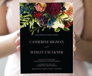 wedding invitation, make me digital, and etsy image