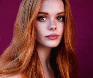 actress, freckles, and goddess image