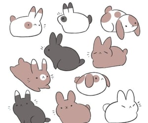 archive, bunnies, and bunny image