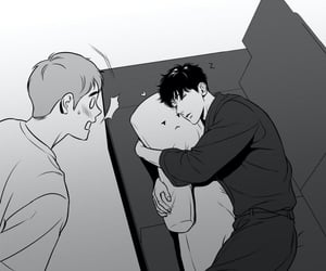 manga, jiwon, and bj alex image