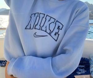 nike, blue, and style image