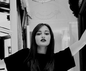 b&w, girl, and black and white image