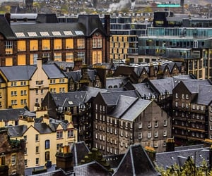 city, edinburgh, and europe image