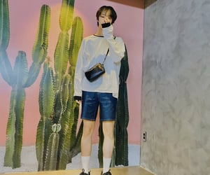 fashion, monsta x, and kpop image