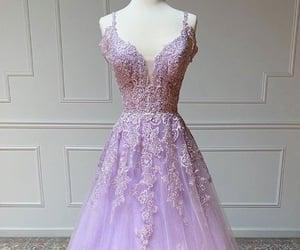 beauty, party dress, and graduation dress image