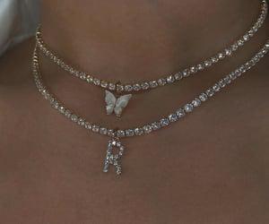 jewelry, necklace, and diamond image