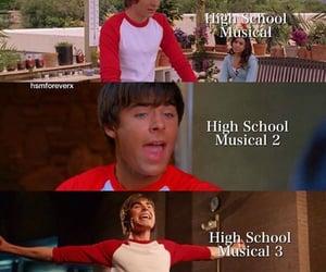 high school musical, high school musical 3, and high school musical 2 image