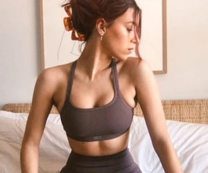 abs, bra, and fashion image