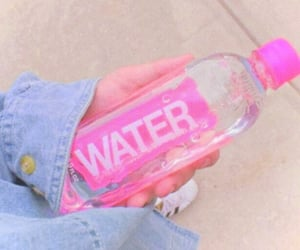 water, pink, and aesthetic image