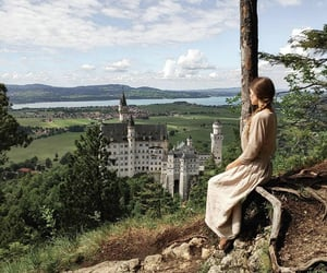 braid, castle, and europe image