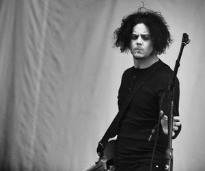 jack white, the white stripes, and men image
